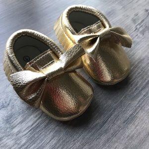 NWOT Romirus baby moccasins